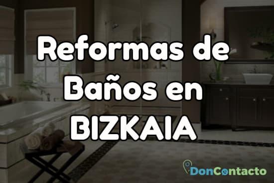 Reformas de baños en Bizkaia