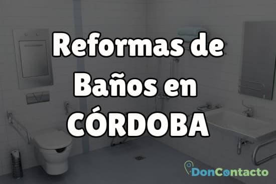 Reformas de baños en Córdoba