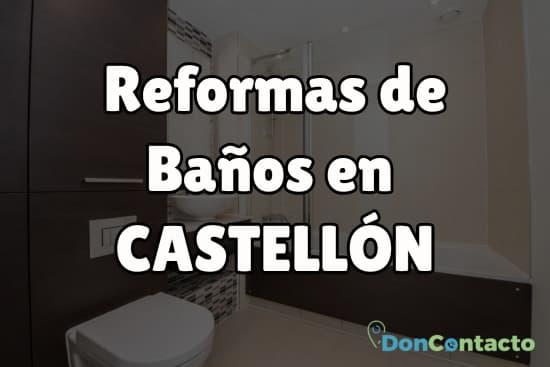 Reformas de baños en Castellón
