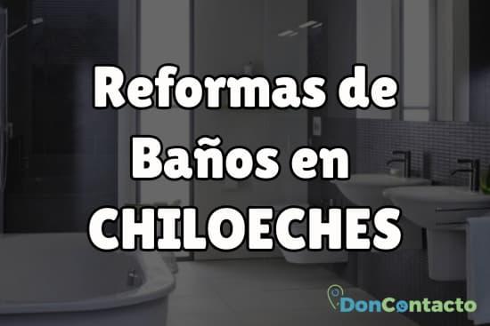 Reformas de baños en Chiloeches
