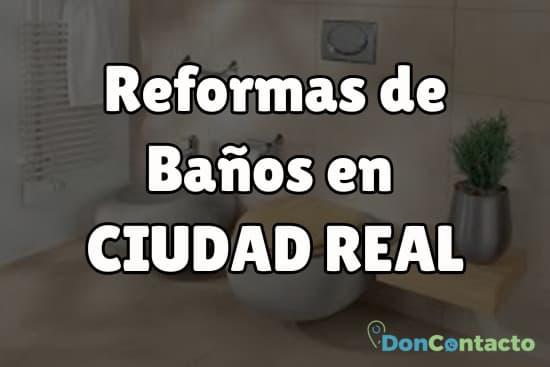 Reformas de baños en Ciudad Real
