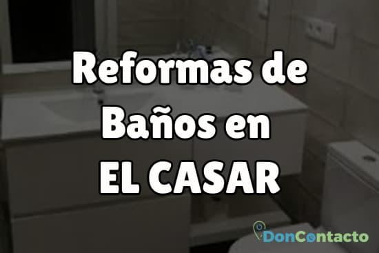 Reformas de baños en El Casar
