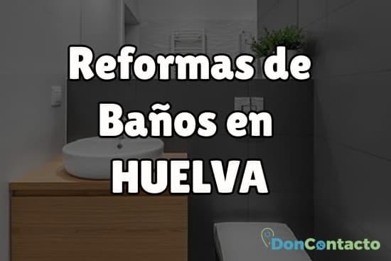 Reformas de baños en Huelva