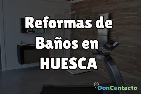 Reformas de baños en Huesca