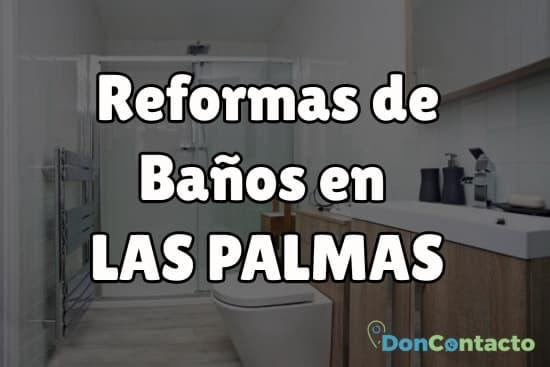 Reformas de baños en Las Palmas