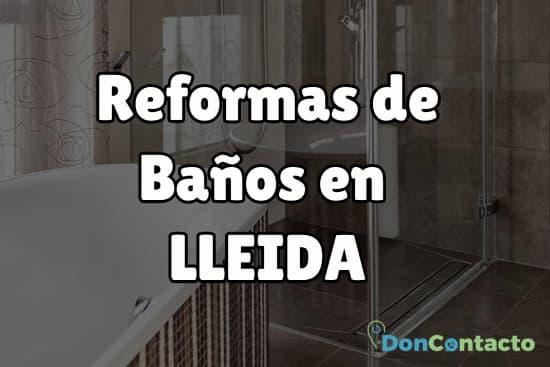 Reformas de baños en Lleida