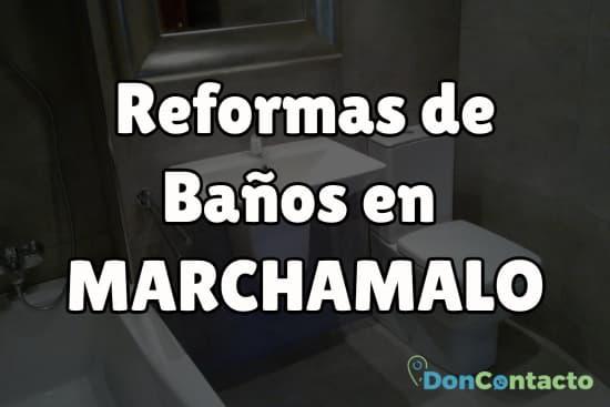 Reformas de baños en Marchamalo
