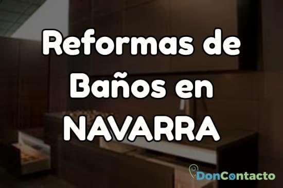 Reformas de baños en Navarra