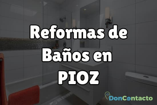 Reformas de baños en Pioz