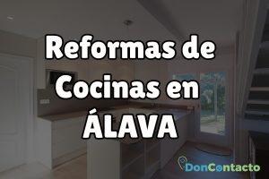 Reformas de cocinas en Álava