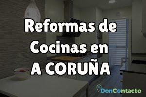 Reformas de cocinas en A Coruña