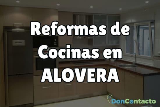 Reformas de cocinas en Alovera