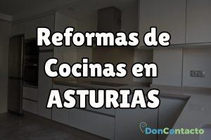 Reformas de cocinas en Asturias
