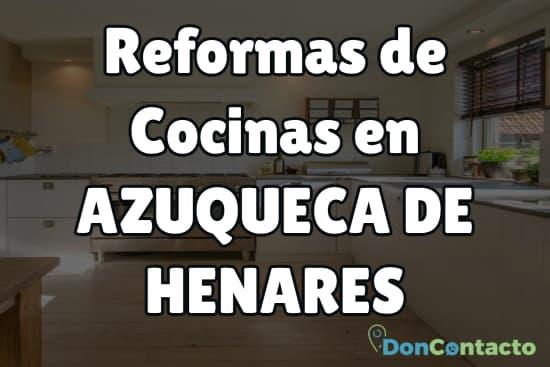 Reformas de cocinas en Azuqueca de Henares