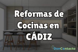 Reformas de cocinas en Cádiz