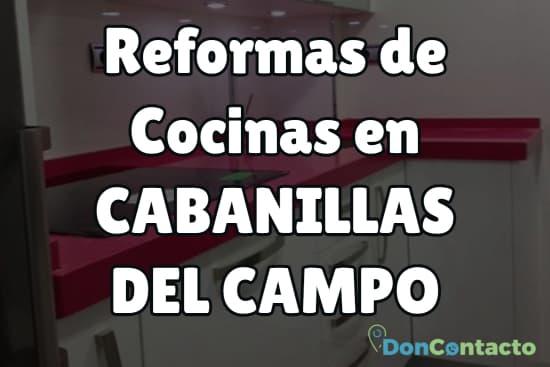Reformas de cocinas en Cabanillas del Campo