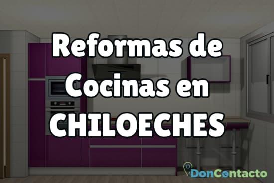 Reformas de cocinas en Chiloeches