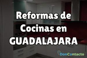 Reformas de cocinas en Guadalajara