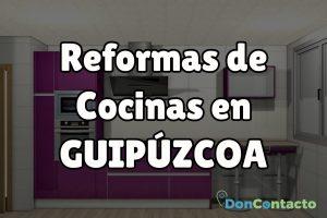 Reformas de cocinas en Guipúzcoa