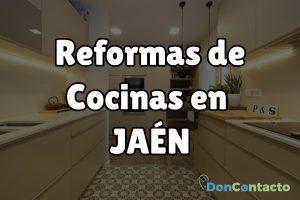 Reformas de cocinas en Jaén