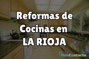 Reformas de cocinas en La Rioja