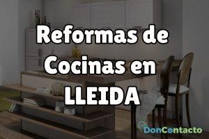 Reformas de cocinas en Lleida