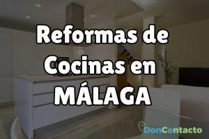 Reformas de cocinas en Málaga