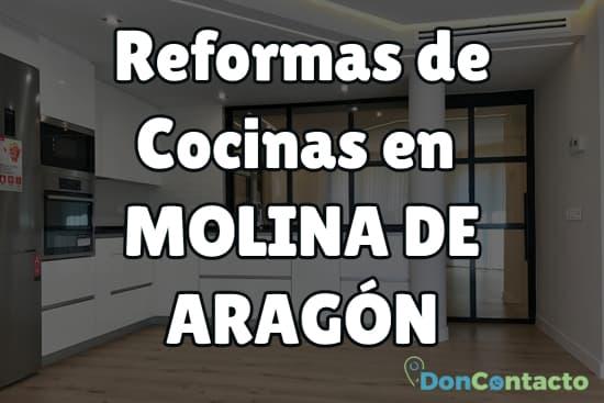 Reformas de cocinas en Molina de Aragón