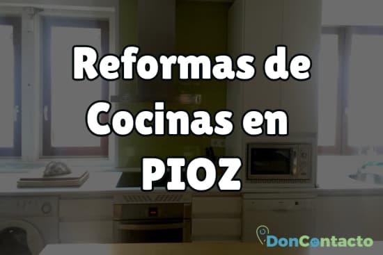 Reformas de cocinas en Pioz
