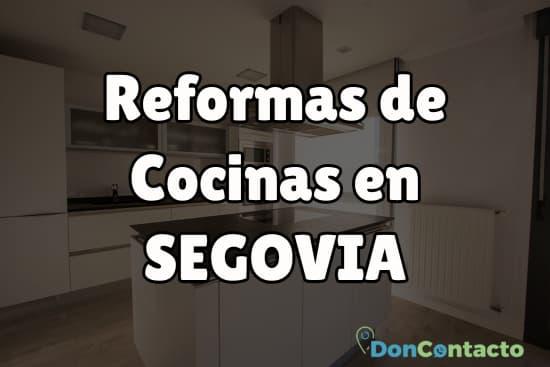 Reformas de cocinas en Segovia