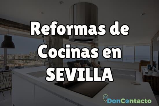 Reformas de cocinas en Sevilla
