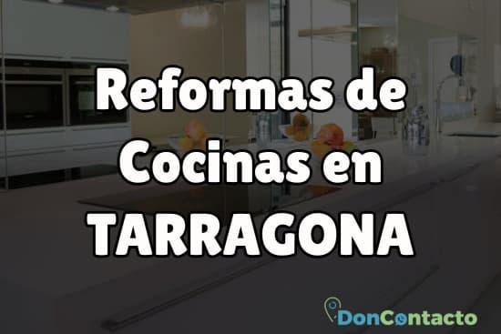 Reformas de cocinas en Tarragona