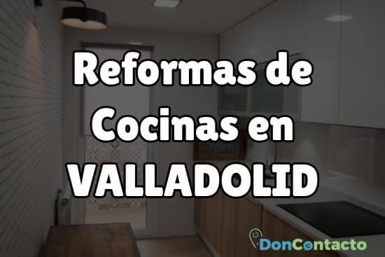 Reformas de cocinas en Valladolid