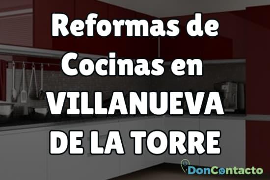 Reformas de cocinas en Villanueva de la Torre