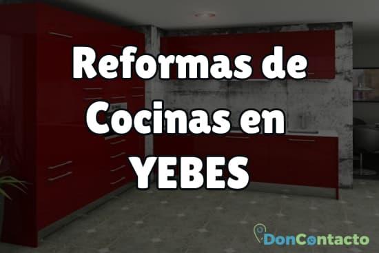 Reformas de cocinas en Yebes
