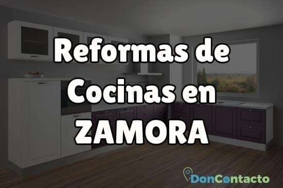 Reformas de cocinas en Zamora