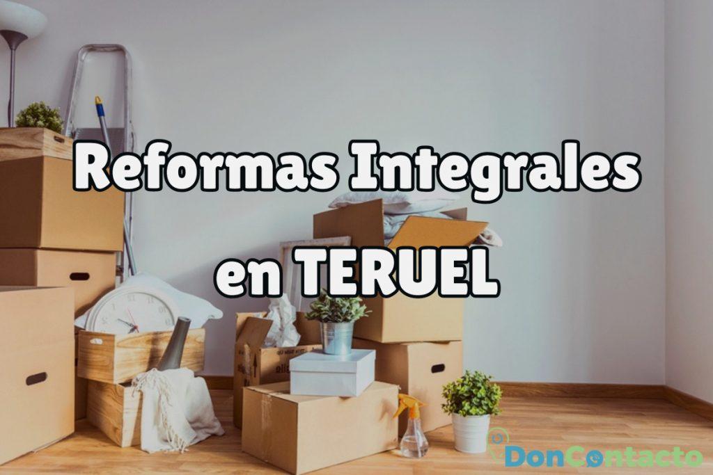 Reformas Integrales en Teruel