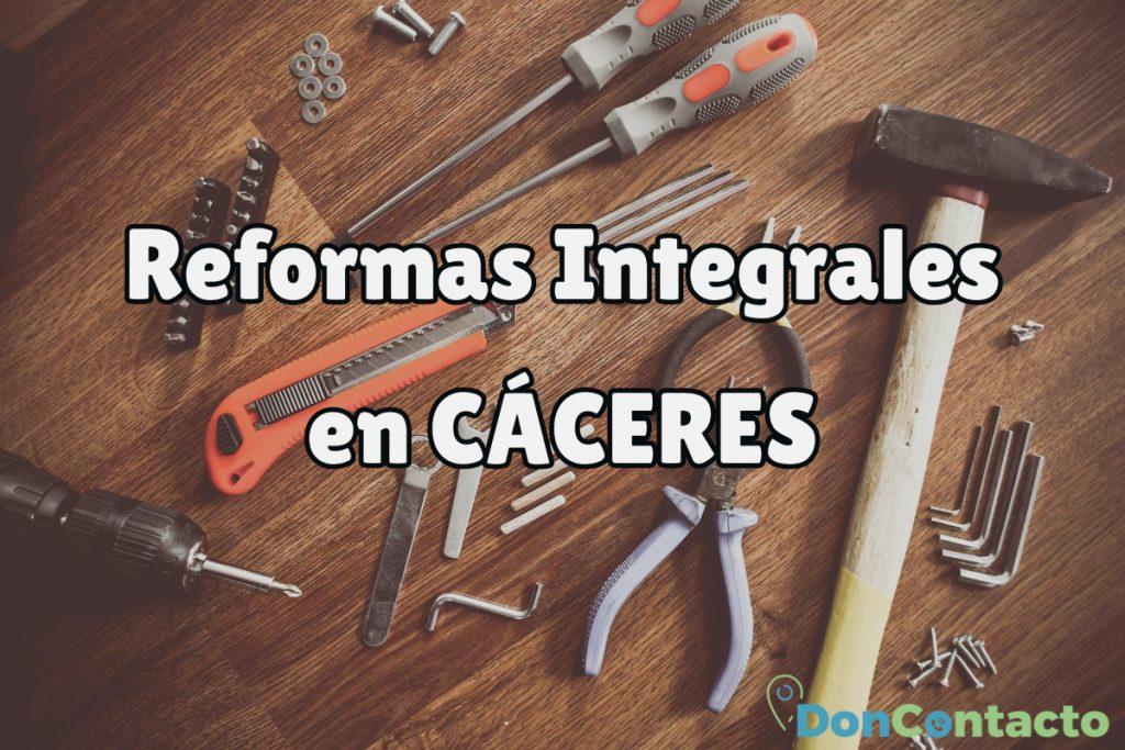 Reformas Integrales en Cáceres