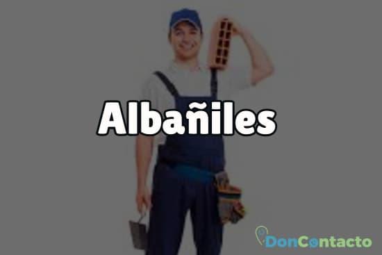 Albañiles