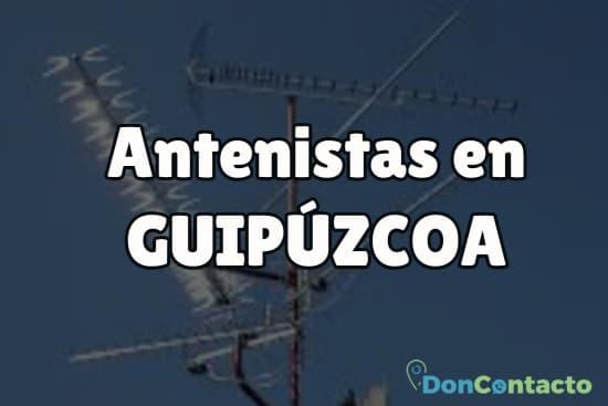 Antenistas en Guipúzcoa