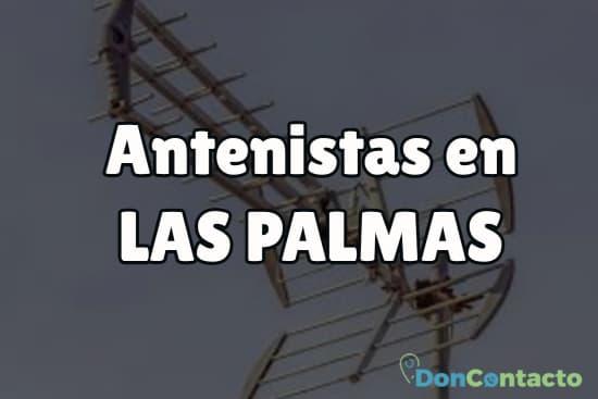 Antenistas en Las Palmas