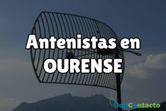Antenistas en Ourense