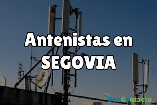 Antenistas en Segovia