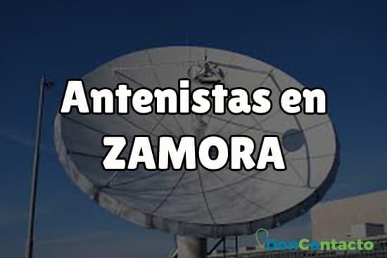 Antenistas en Zamora