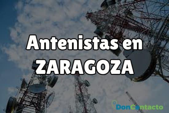 Antenistas en Zaragoza