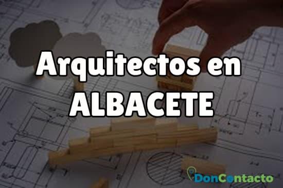 Arquitectos en Albacete
