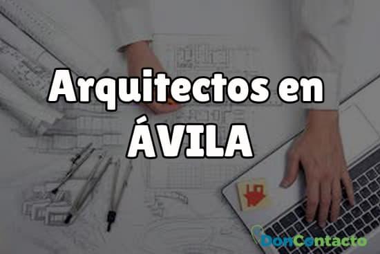 Arquitectos en Ávila