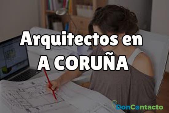 Arquitectos en A Coruña