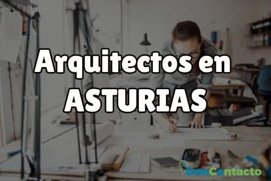 Arquitectos en Asturias