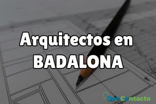 Arquitectos en Badalona